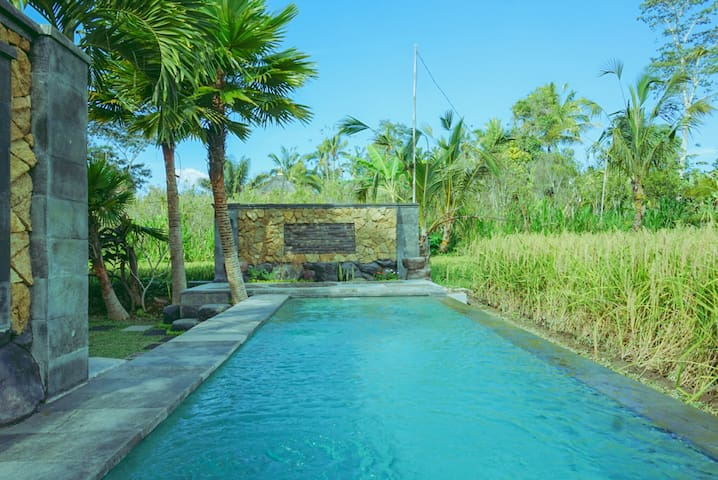2BR Private Cottage with swimming pool