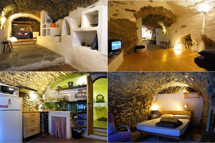 La Cova, rural y con mucho encanto - La Selva de Mar - Earth House
