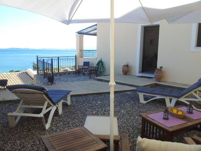 Holiday home with spectacular sea views - Corfu - Huis