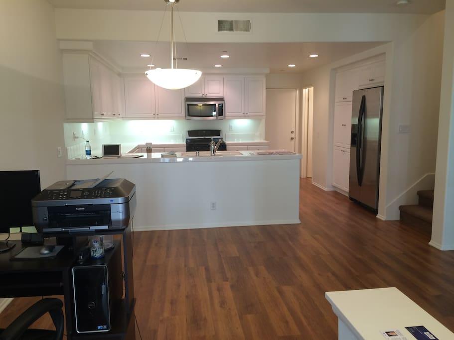 1st Floor and kitchen