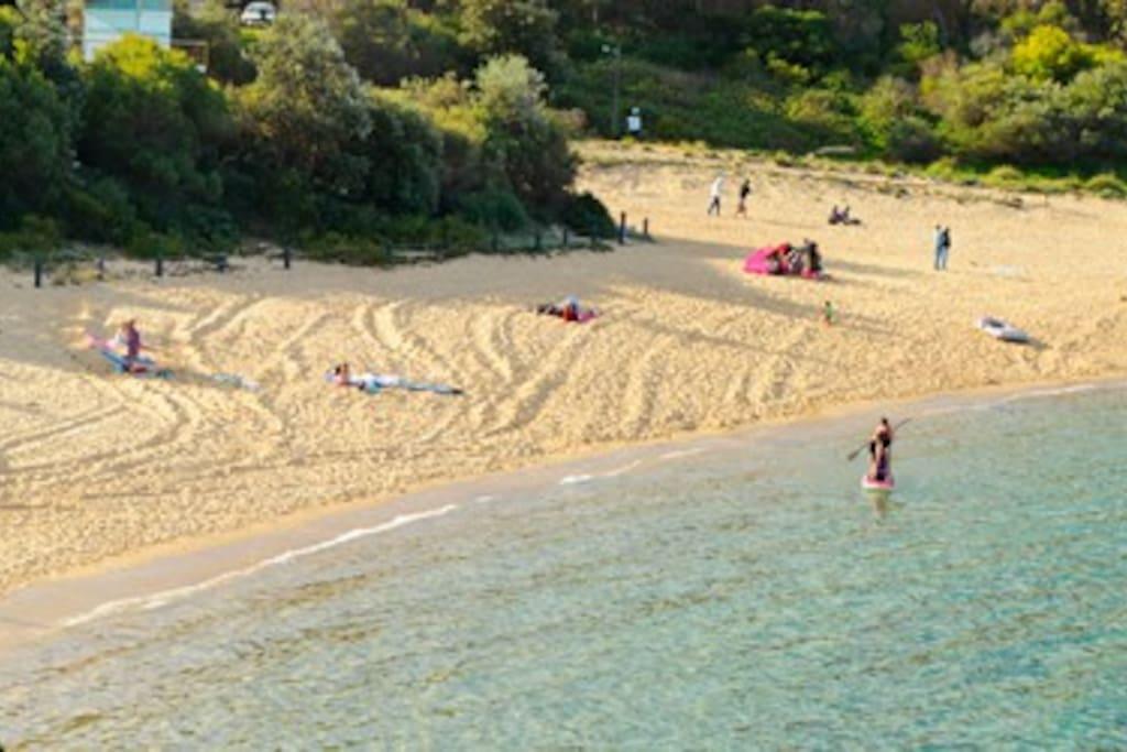 Malabar Beach, 5 min walk