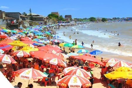 Suíte à uma quadra do mar em Marataízes-ES :)
