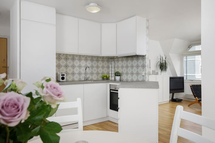 Modern, central and quiet apt in the heart of Oslo - Oslo - Apartemen