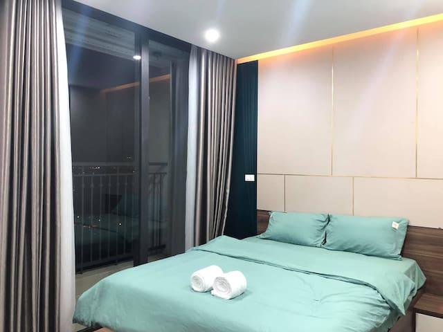 Studio-Apt Luxury with Lake 10m to Keangnam Tower