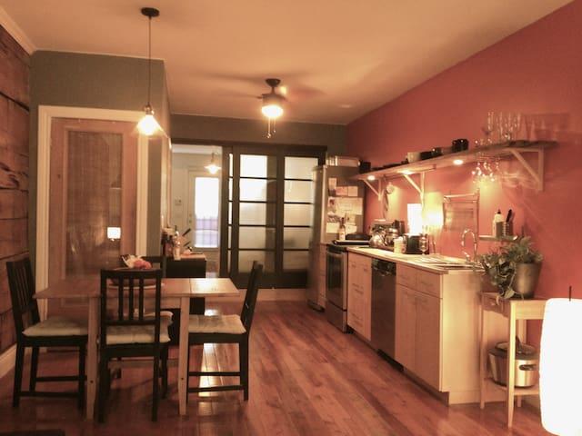 Cozy Loft Apt Mile End/Little Italy - Montreal - Apartment
