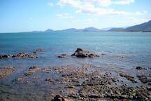 Costa sud est- Vista su foce del Flumendosa  e promontoio Torre Salinas -   Villaputzu -