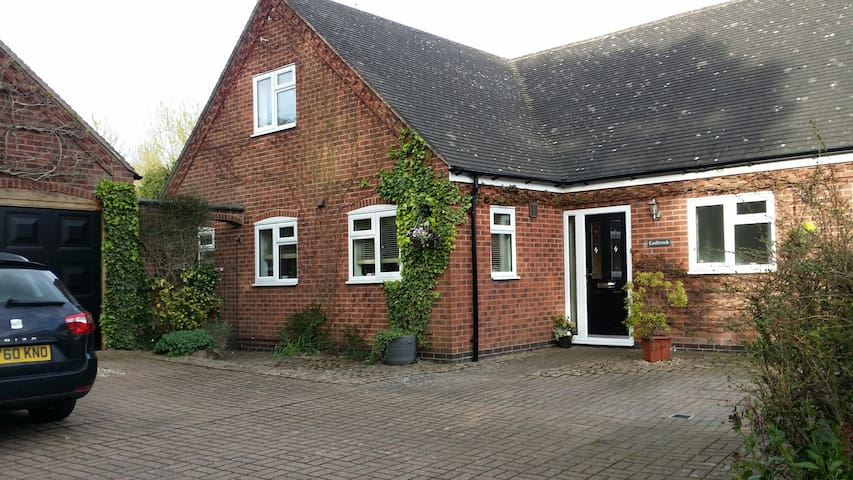 A quiet rural setting with off-road parking