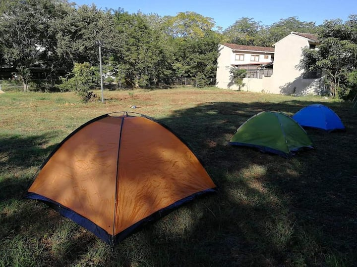 Camping land in the center of tamarindo
