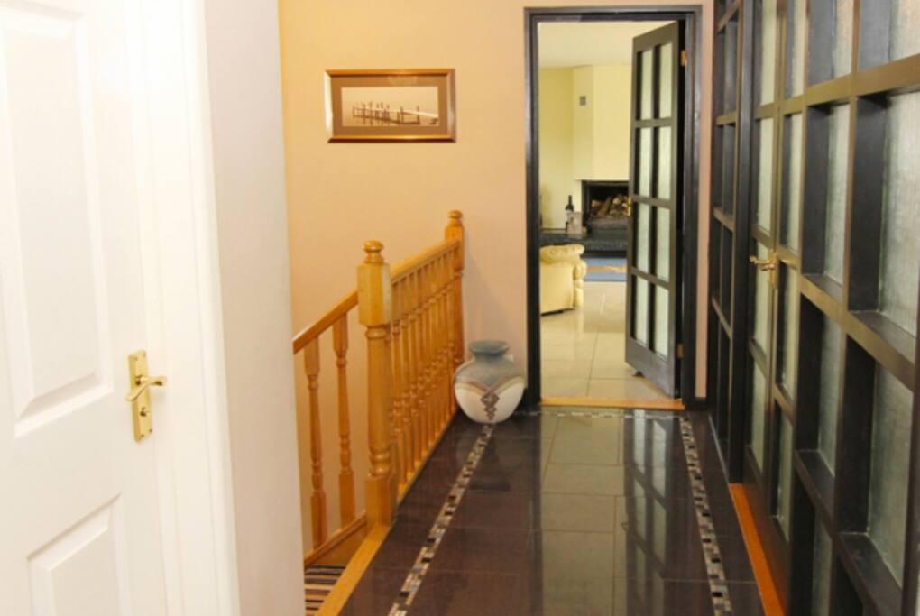 Hallway to the Lounge