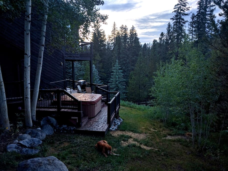 Dog friendly 3br house minutes from slopes cabins for Cabins in keystone colorado