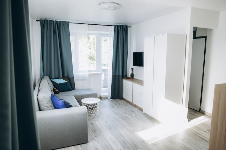 A newly renovated apartment in historical downtown