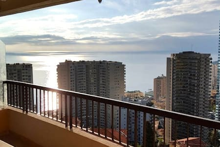 Very nice apartment with sea view - Beausoleil