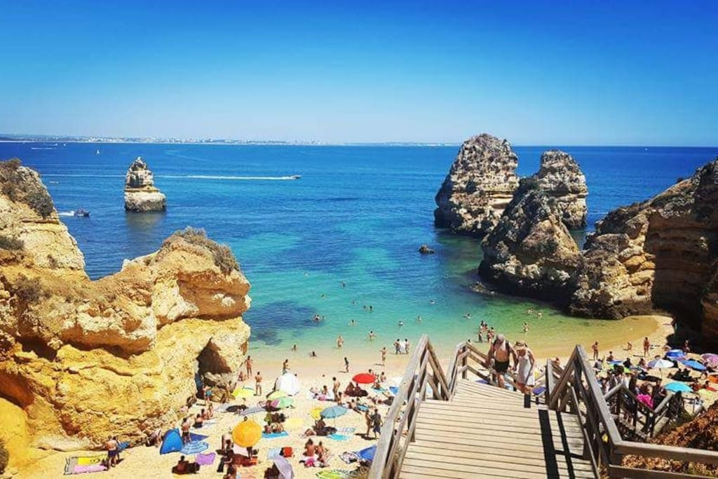 Camilo Beach, considered one of the most beautiful beaches in Europe