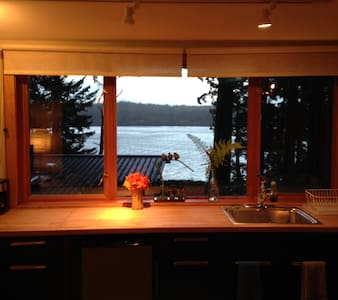 Water View Cabin in the Woods - Bainbridge Island - Blockhütte