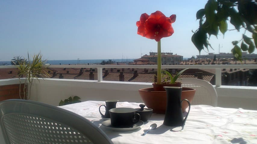 Stunning apartment with sea views - Premià de Mar