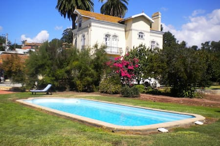 Fantastic Vila with pool all fenced - Frossos