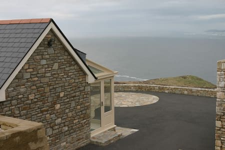 Luxury Cliffside Retreat Ocean View - Donegal