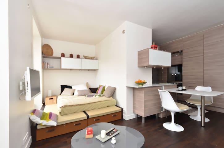 Elegant studio- Neuf-  Montmartre