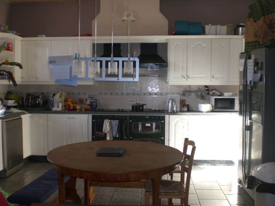 24m2 well equipped kitchen/living room