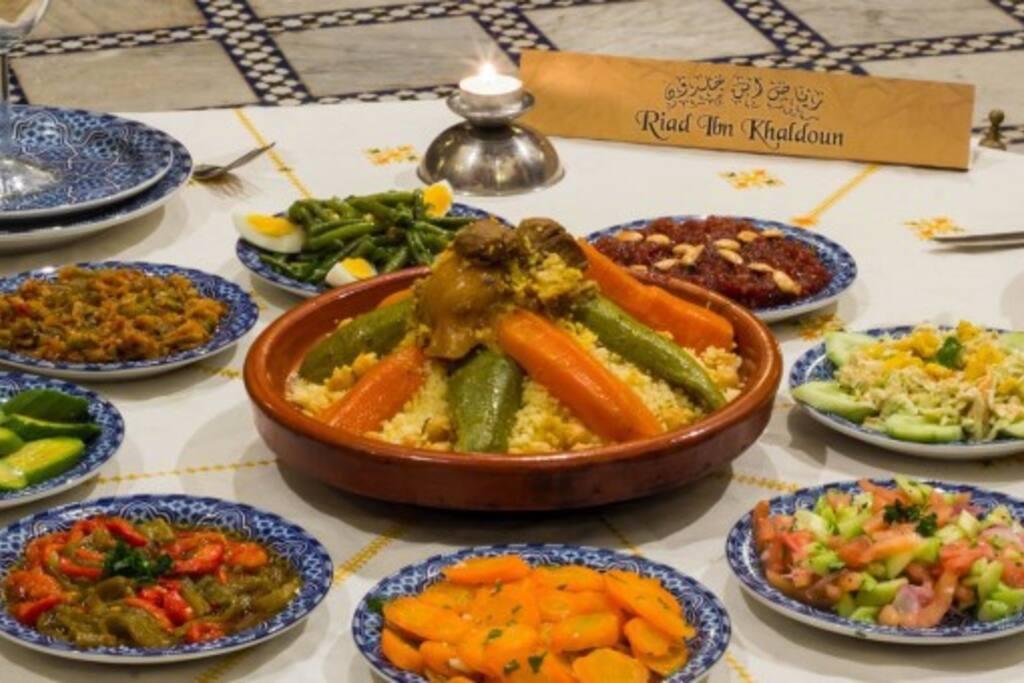 Repa traditionnel marocain