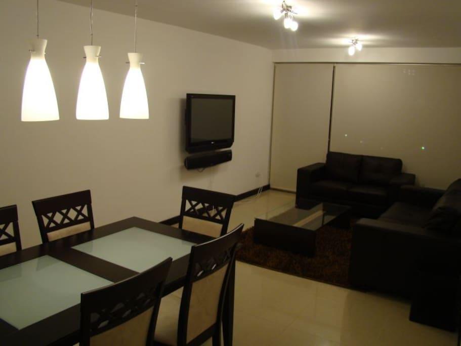 Increíble apartamento totalmente equipado y con todos los servicios