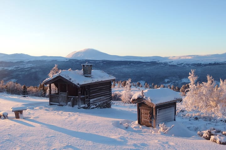 Your own cabin on the mountain