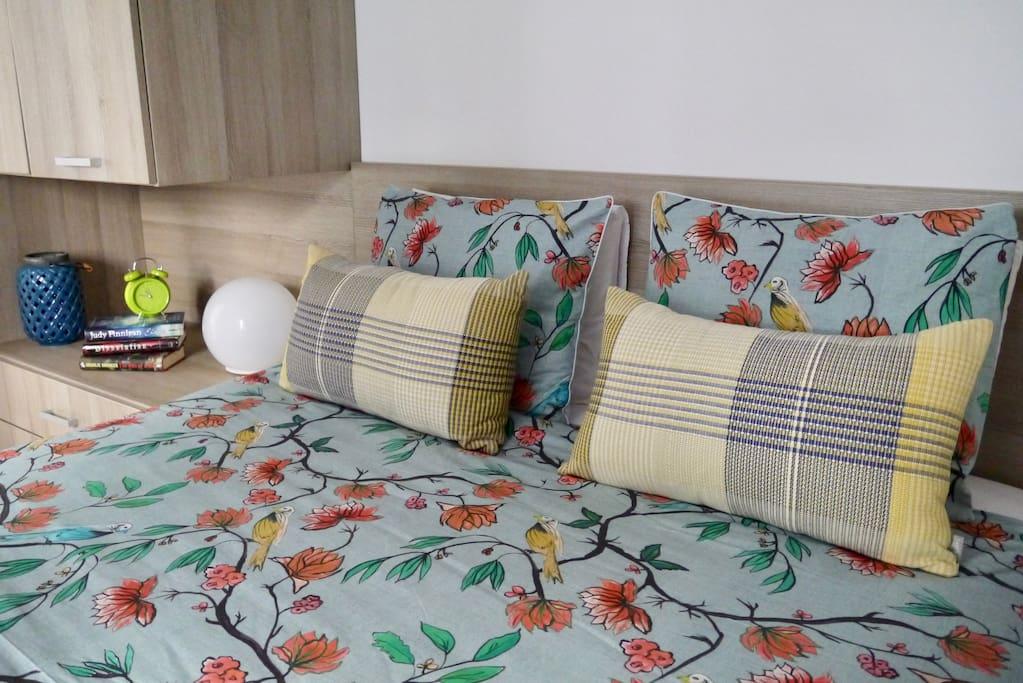 Bedroom king size bed 160 X 200 CoastalVilla.hr