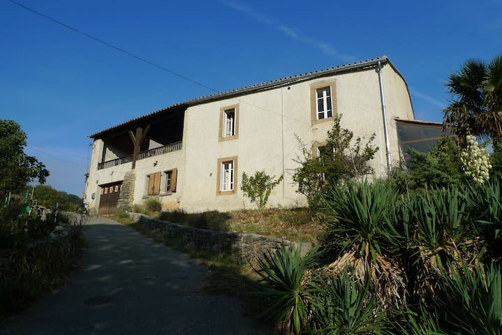 Rural Farmhouse in Charming Setting - Limoux - House