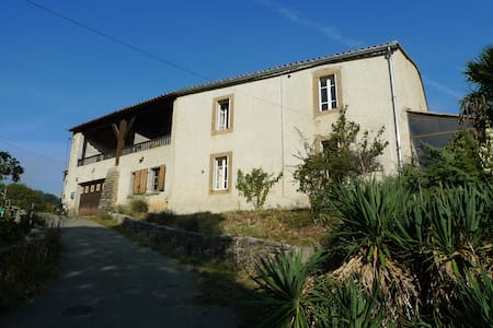 Rural Farmhouse in Charming Setting - Limoux - Hus