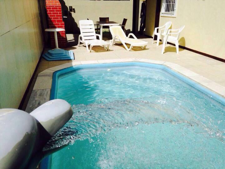 7 suítes com piscina Porto de galinhas a 100 m mar
