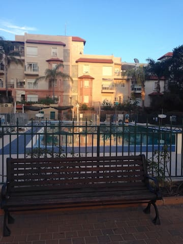 Elegant apartment with a pool view - Rehovot - Apartment