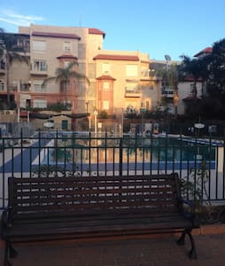 Elegant apartment with a pool view - Rehovot - Lakás