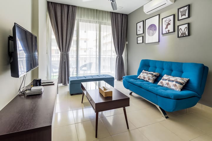 Wonderful KL Condo Wifi & 10 mins to City Center - Kuala Lumpur - Condominium