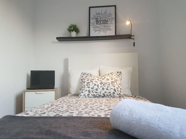 Excelente habitación, confortable y muy agradable!