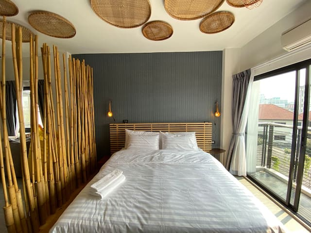 Designer service apartment Lat Phrao Bangkapi 5