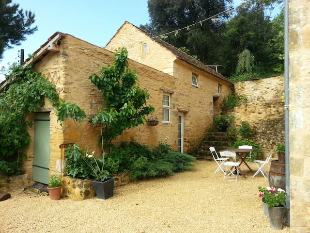 Cosy stone home near Sarlat for 2/3 - Prats-de-Carlux - Дом