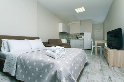 😎🅰Милая 1к квартира в новом доме рядом м.Теремки