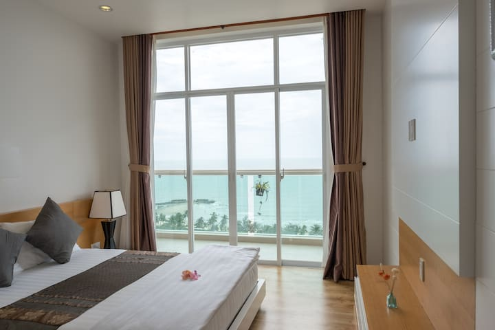 B713: Exquisite Mui Ne Sea-View Apartment - Phan Thiet - Byt