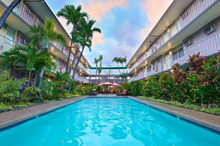 NEW: **Private Room 2 Full Beds near HNL Airport