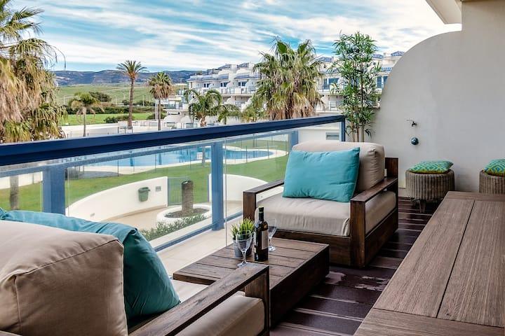 Stylish Apartment With Views In Tarifa ra-605