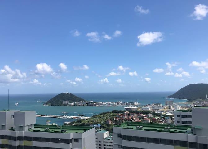 [Ocean view&cozy]바다가 보이는 그림 같은 집(남포동/부산역/영도/태종대)