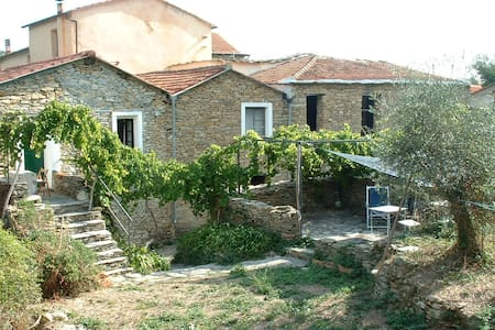 Charming village house in the groves near the sea - Dolcedo