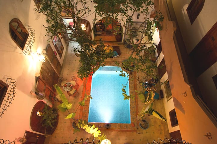 **THE PLACE TO BE IN THE HEART OF MARRAKECH **