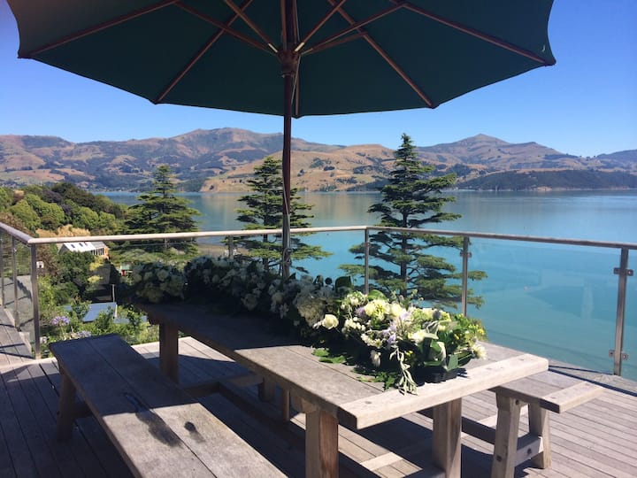 Akaroa Harbour View House.
