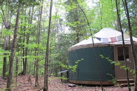 """Mt. Brook Yurt""  Off Grid Mountain Yurt"