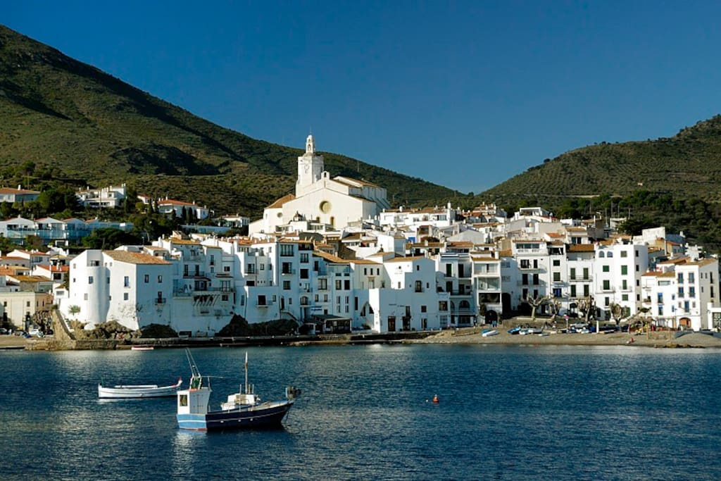 Cadaques from the sea
