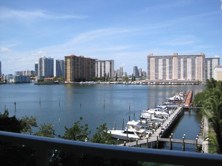 Condo Balcony Intracoastal Bay View