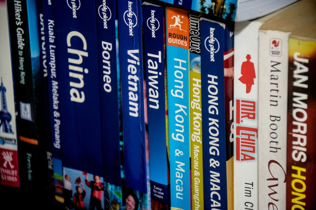 We have tons of Lonely Planet books, feel free to borrow!