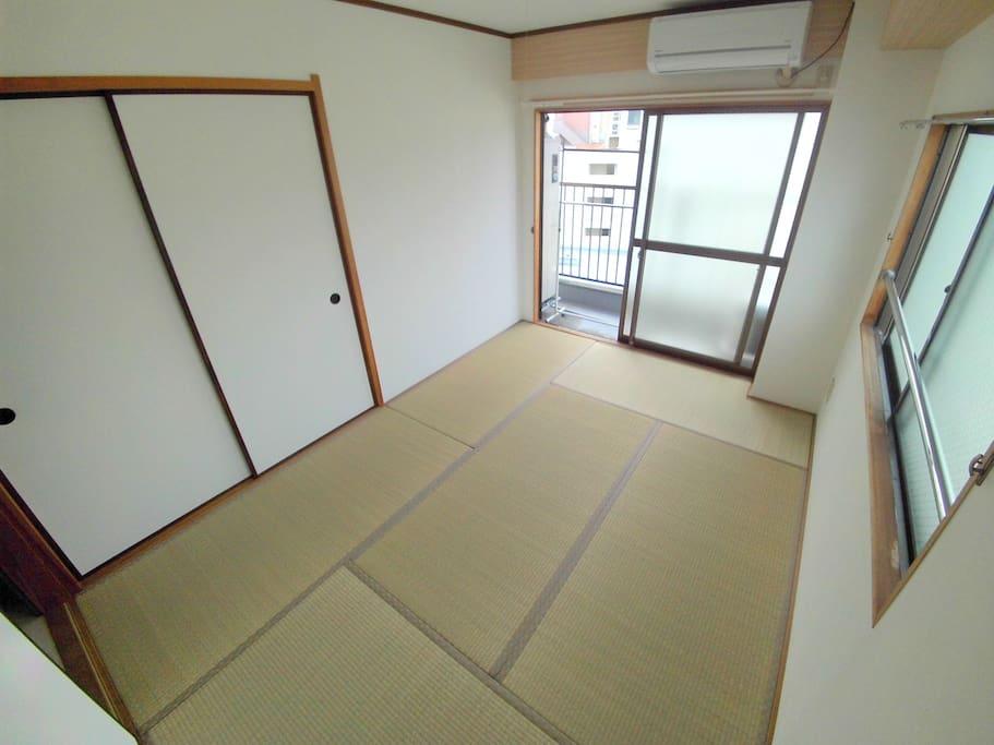 和室もあります。(主寝室)There is also a Japanese-style room. (Main bedroom)