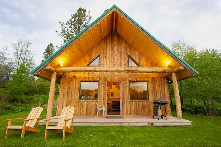 Spring creek ranch cabin cottages for rent in winthrop for Winthrop cabin rentals